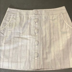 Banana Republic gray mini skirt 4